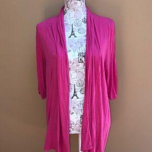 Lane Bryant Pink Knit Cardigan 14/16